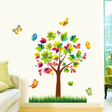 PVC wall stickers, decoration, adesivodeparede, Colorful