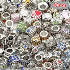 alloybead, mixedbead, diyjewelry, crystalbead