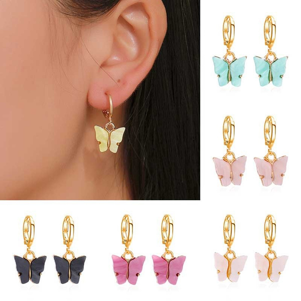 butterfly, Fashion, butterfly earrings, Jewelry