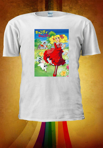 Candy Candy japonais キャンディ Manga Anime T-shirt tshirt Unisexe Hommes Femmes 3753