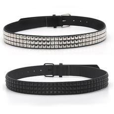 rhinestonerivetbelt, Fashion Accessory, Leather belt, mens belt