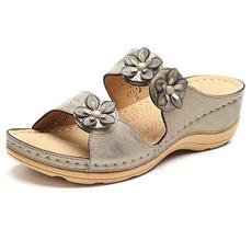 Summer, Flip Flops, Flowers, summersandal