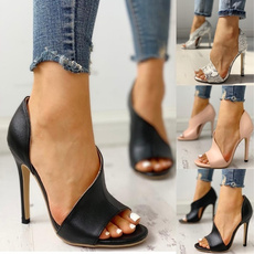 Summer, Fashion, Womens Shoes, Buckles