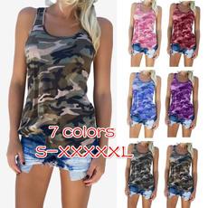 Summer, Plus Size, camisole, slim