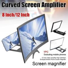 screenmagnifier, phone holder, Mobile, Amplifier