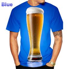 Summer, Fashion, Personalized T-shirt, 3dprintedtshirt