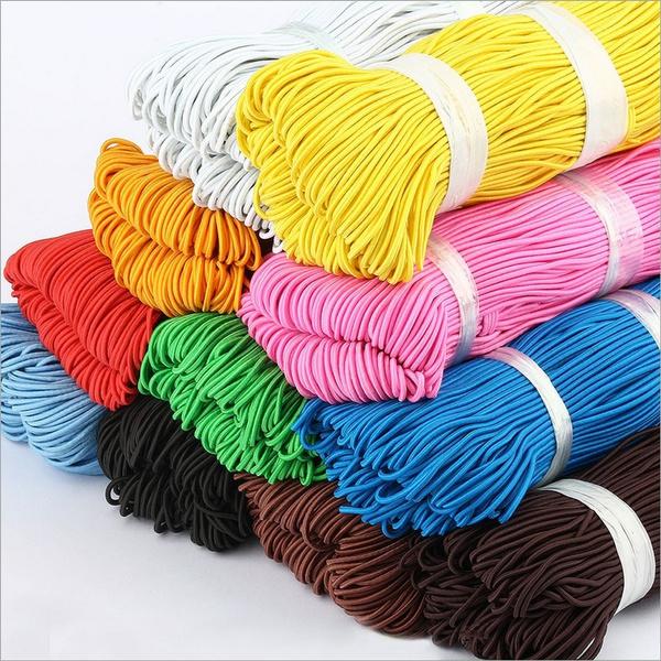 elasticheadband, elasticrope, roundelastic, Colorful