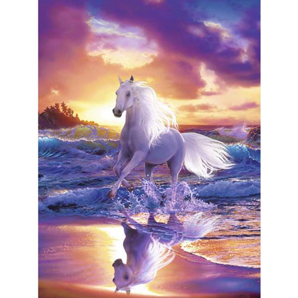 horse, DIAMOND, Home Decor, diamondpainting