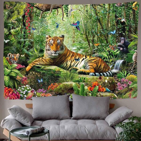 trippytapestry, King, Animal, dormtapestry