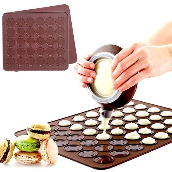 macaronsiliconemat, bakingmatsliner, ovenmat, Baking