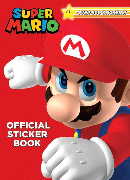 Mario, Book, Nintendo, Stickers