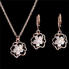 Cubic Zirconia, Fashion, Jewelry, gold
