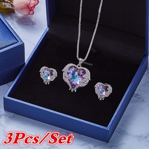 Heart, crystal pendant, Necklaces Pendants, Jewelry