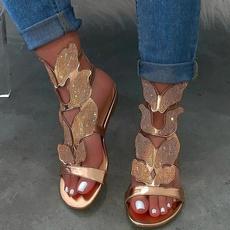 Summer, Outdoor, Women Sandals, bling bling