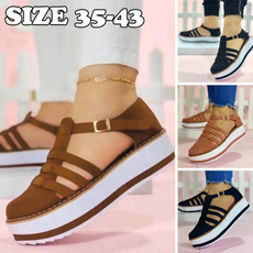 thickbottomshoe, casual shoes, Tassels, Sandals