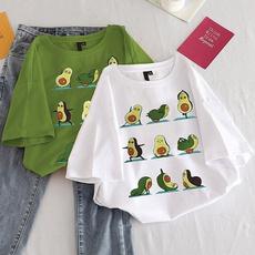 cute, Shorts, Sleeve, Summer