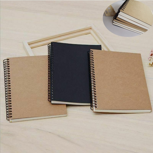 Paper Sketch Book Set For Watercolor Drawing Art Sketchbook 50 Sheets School Pad