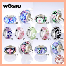 Charm Bracelet, Beaded Bracelets, diyjewelry, Flowers