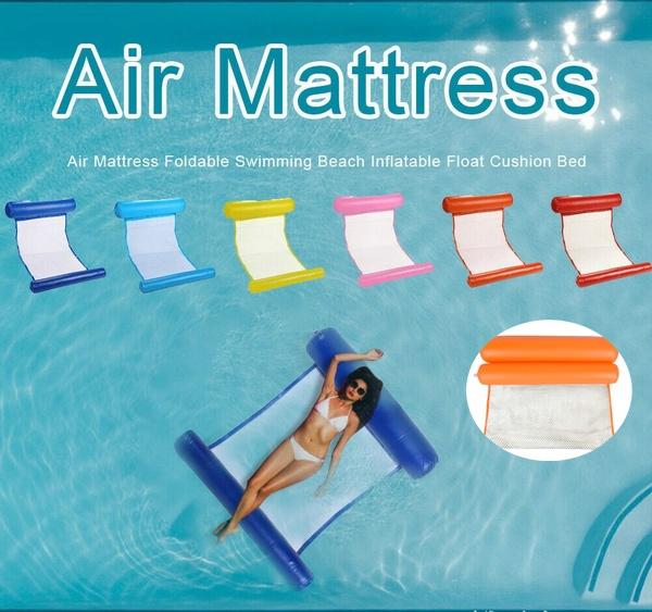 loungerfloatingcushion, outdoorcushionbedchair, Swimming, summerwaterhammock