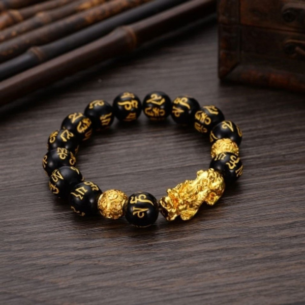 pixiu, Charm Bracelet, Jewelry, gold