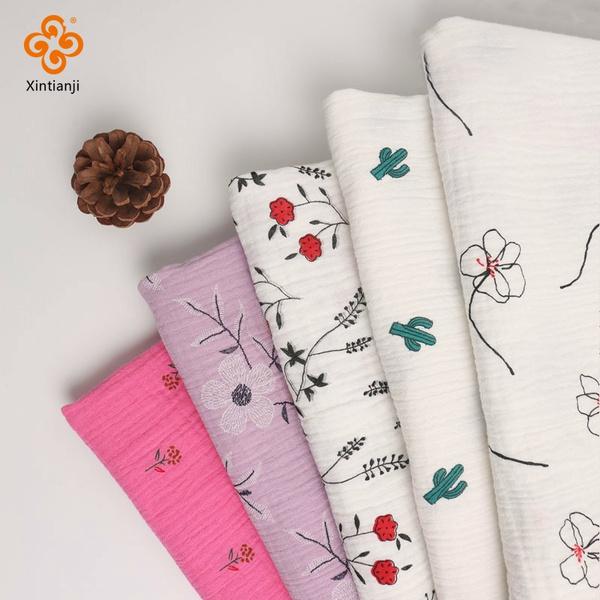 Cotton fabric, printedgauzefabric, Sewing, gauzefabric