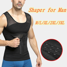 Vest, Men, shaperformen, Shirt