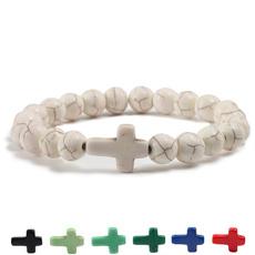 Charm Bracelet, Beaded Bracelets, turquoisebracelet, Fashion