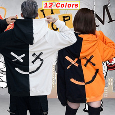 hooded, Tops, Pullovers, Hip Hop