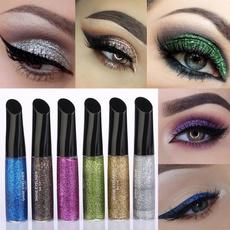 Makeup, eye, Beauty, glittereyeliner