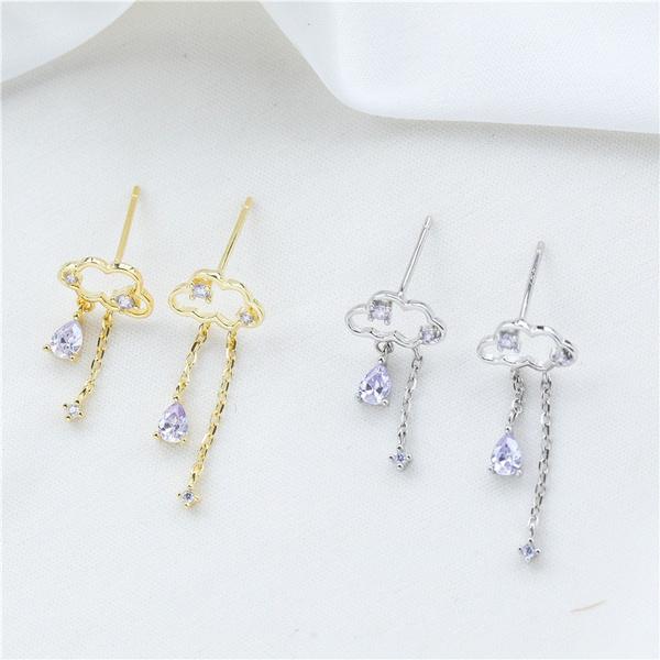 Sterling, Tassels, DIAMOND, Jewelry
