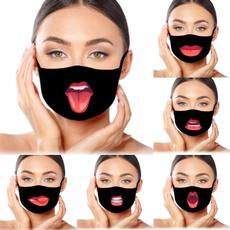 Funny, redlip, Fashion, dustmask