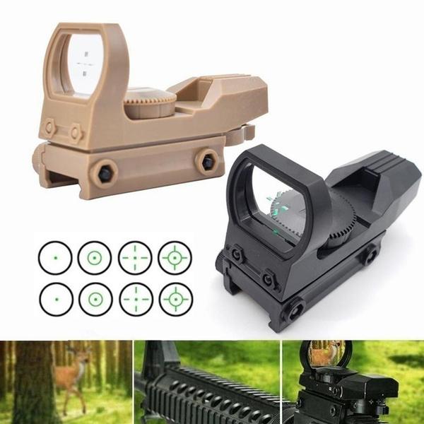 railriflescope, Holographic, Hunting, reflex