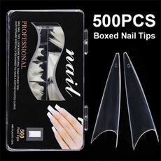 nail decoration, acrylic nails, nail tips, Beauty