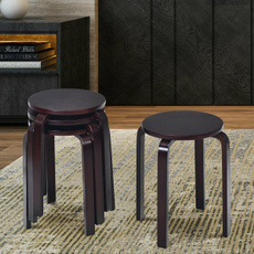 brown, Decor, stackingstool, Home Decor