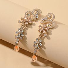 earringaccessory, Flowers, Jewelry, Glitter