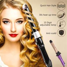 Hair Curlers, ceramicwavehairroller, Fashion, Electric