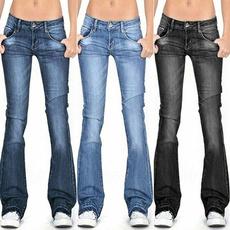 Fashion, plus size jeans, bellbottomjean, JeansWomen