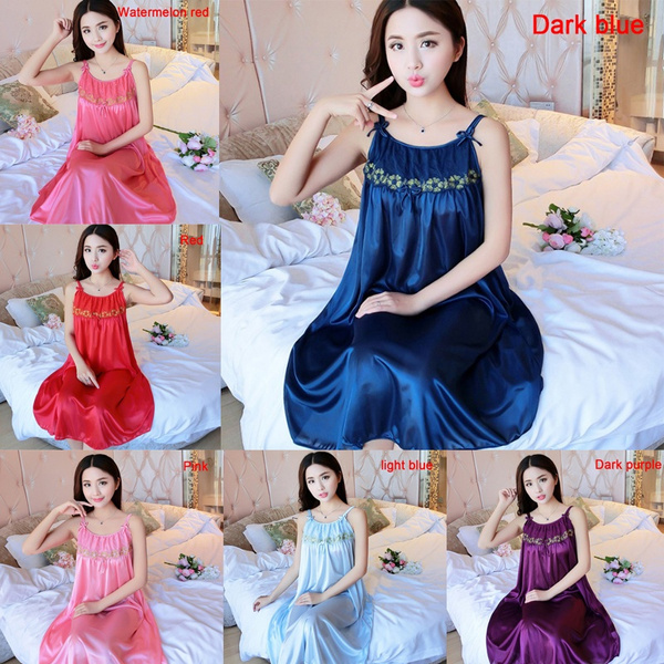 sexy sleepwear dress, Summer, Plus Size, Lace