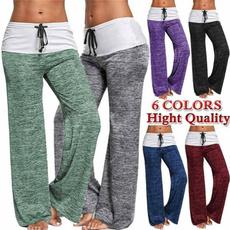 Women Pants, palazzopant, Yoga, high waist