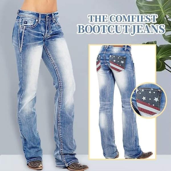 Plus Size, pants, Denim, Boots