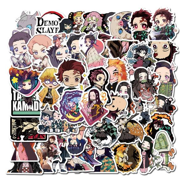 demonslayerkimetsunoyaiba, myheroacademia, Japanese Anime, dragonballsticker