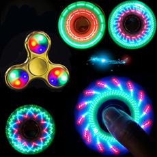 fidgetspinner, led, Colorful, lights