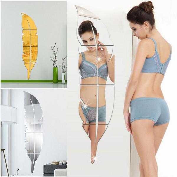 acrylicsticker, art, Mirrors, Wall Art