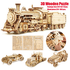 building, Toy, Gifts, Wooden