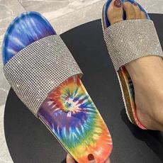 Summer, bling bling, cutesandal, summer shoes
