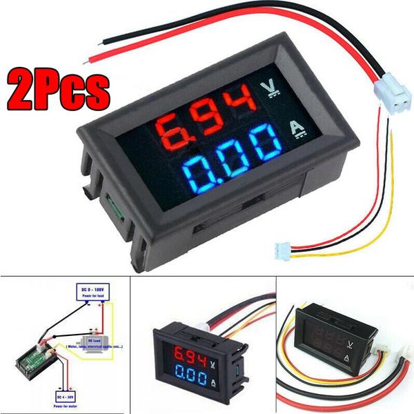 Blues, spare parts, led, ledvoltmeter