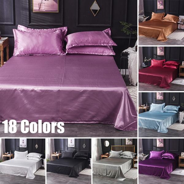 silky, King, silkbeddingsheet, Bedding