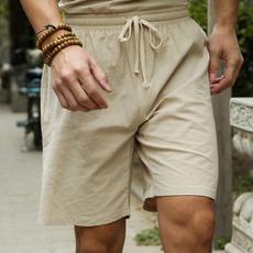 elastic waist, Waist, maleshort, pants