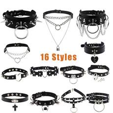 Goth, Fashion, Jewelry, Chain