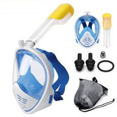 underwater, divingmask, Beach, snorkelingmask